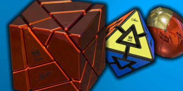 Massive Mefferts Unboxing – Red Ghost Cube – Metal Eggs – Diamond Pyraminx