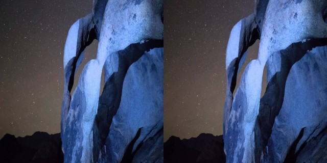3D Star Time-Lapse (Double Arch)