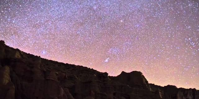 Red Rock Canyon Milky Way Time-Lapse