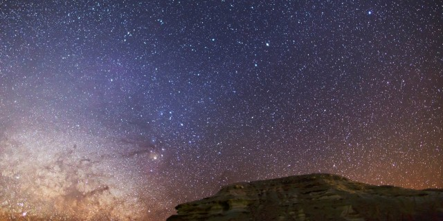 Death Valley Milky Way Time-Lapse