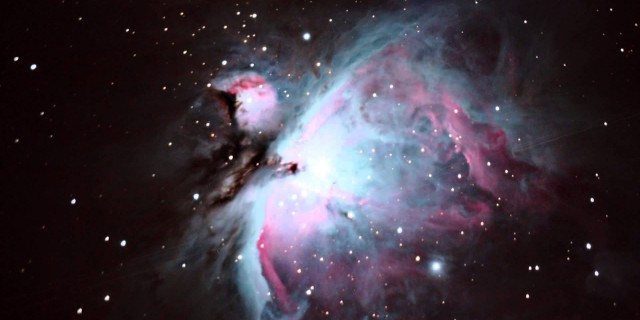 Orion Nebula – My First Stacked Image
