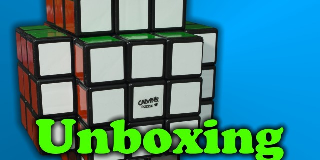 Cross Cube Unboxing