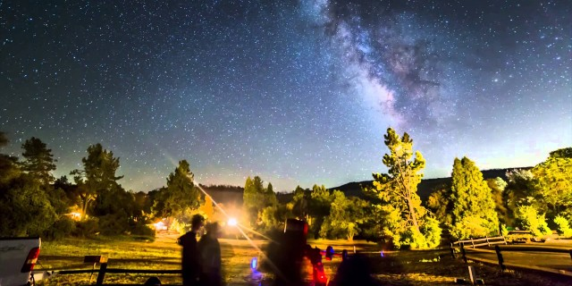 Camping with a Telescope – Time-lapse