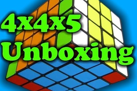 4x4x5 Unboxing and Review