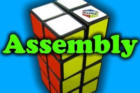 Rubik's Cube 2x2x4 Assembly