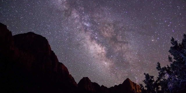 Milky Way & Annular Solar Eclipse: Time-lapses at Zion National Park