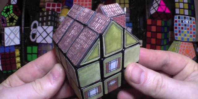 Awesome House Cube (Rubik's Cube Mod)  x3