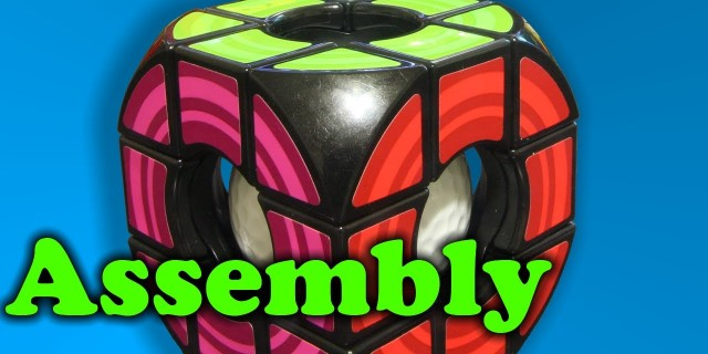 Rubik's Void Cube Assembly & Dissassembly + Magic Trick?!