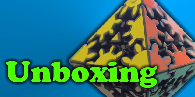 Gear Corner Turning Octahedron Unboxing