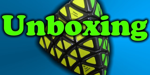 Professor Pyraminx Unboxing and Review