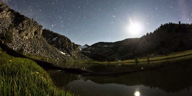 John Muir Trail Time-Lapses of the Milky Way