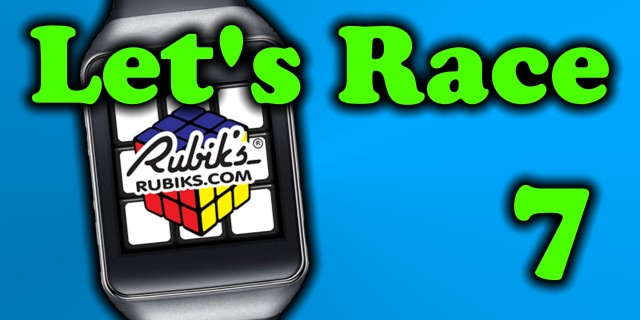 Let's Race  – Easter Egg in Rubik's Cube for Android Wear