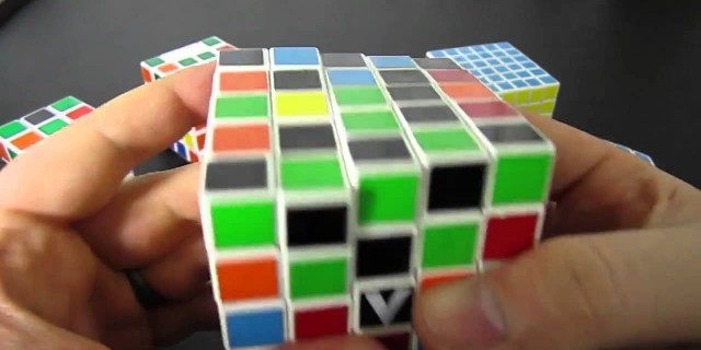 Superflip Rubik's Cube Pattern 3×3 through 7×7