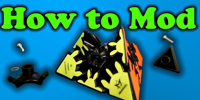 How to mod a Gear Pyraminx