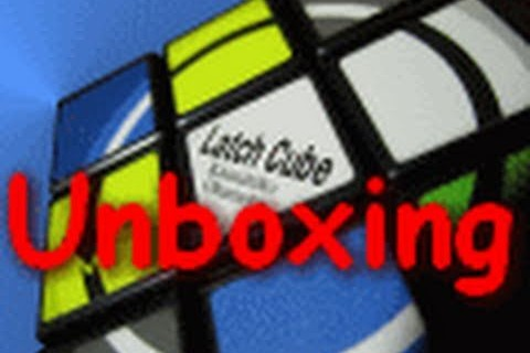Latch Cube Unboxing