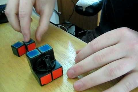 How to assemble a Rubik's 2×2 Pocket Cube