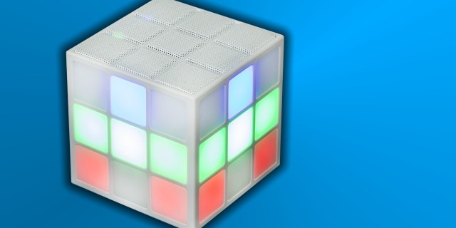 Rubik's SoundCube Bluetooth LED Speaker