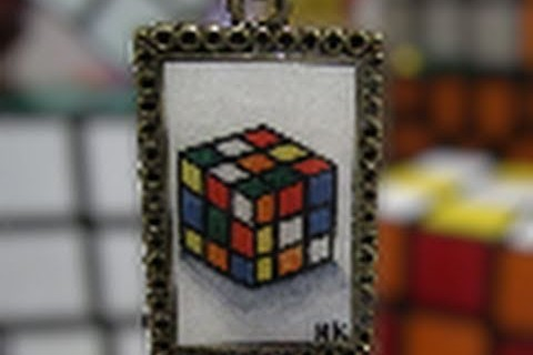 Awesome Rubik's Cube Necklace