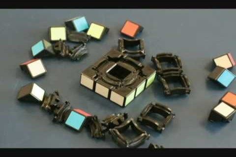 Void Cube Stop Motion Assembly