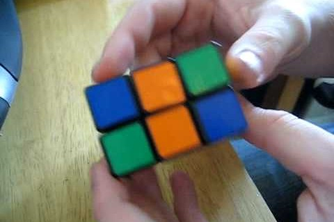 2x2x3 Custom Slim Tower Rubik's Cube