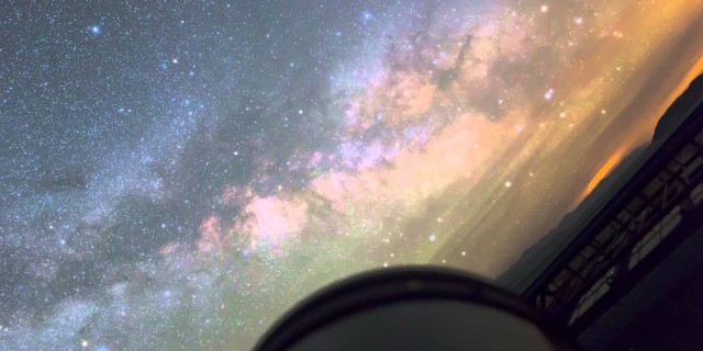 Telescope Point of View Time-lapse