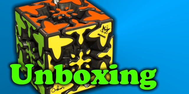 Mixup Gear Cube Unboxing