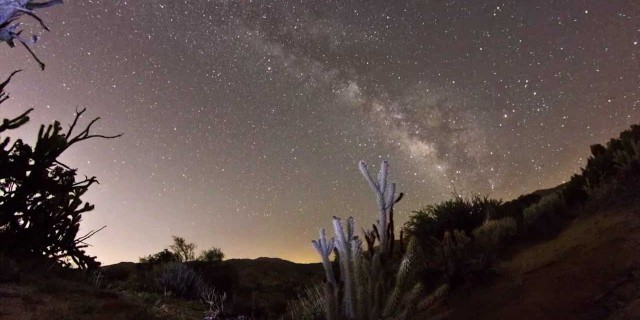Milky Way Time-Lapse — Palm Desert, CA