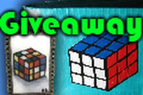 Rubik's Cube Wallet and Necklace Giveaway