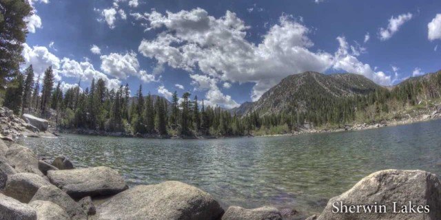 HDR Clouds over the Sierras – Time-lapse