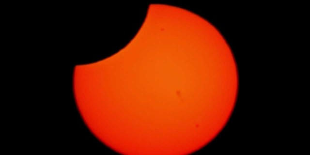 Annular Solar Eclipse Time-Lapse May 22, 2012 Ring of Fire!!