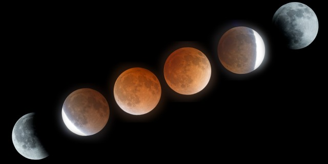 Lunar Eclipse April 15, 2014 –  Blood Moon Time-Lapse