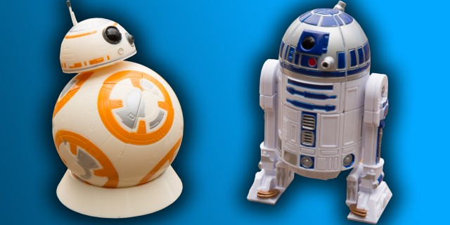 Star Wars BB-8 & R2-D2 Rubik's Cubes