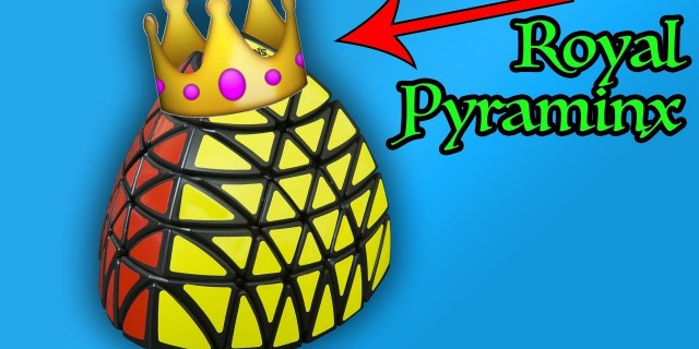 Royal Pyraminx – Can I solve it?