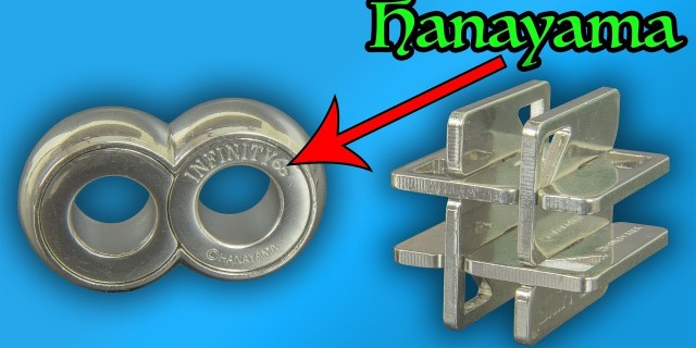 Awesome Hanayama Puzzles – Infinity, and Hashtag Puzzles
