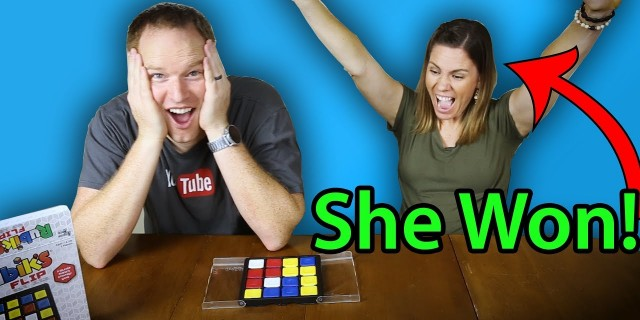 Rubik's Flip – Challenging  my Wife!