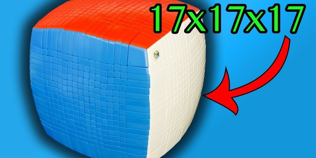 The Ultimate Christmas Present – 17x17x17 Rubik's Cube