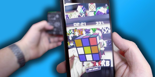 Here's a Rubik's Cube in Augmented Reality!