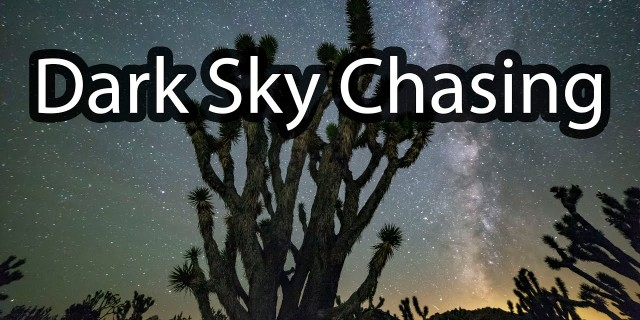 Shooting the Milky Way 🌌- Dark Sky Chasing – VLOG1